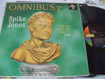 SPIKE JONES - OMNIBUST - LIBERTY { J 187