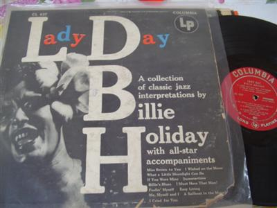 BILLIE HOLIDAY - LADY DAY - COLUMBIA 1954 { J 177