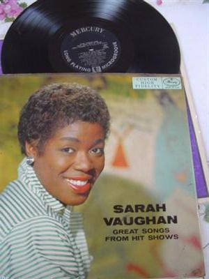 SARAH VAUGHAN - SONGS FROM HIT SHOWS - MERCURY { J 171