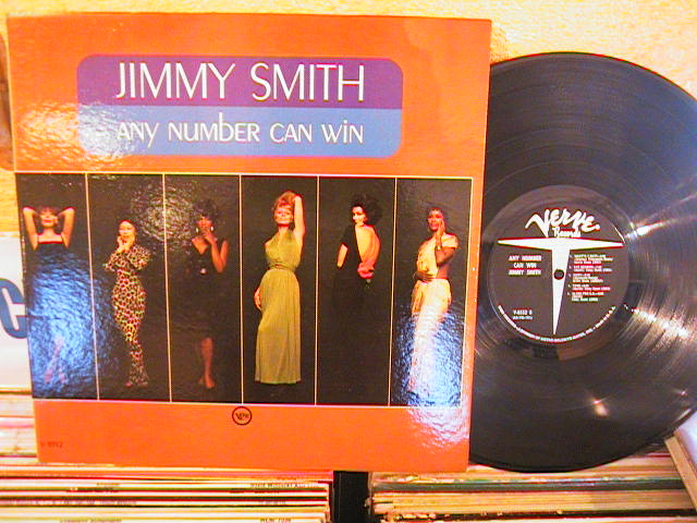 Jimmy Smith - ANY NUMBER CAN - VERVE - J 295