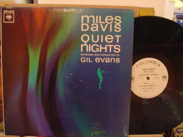 MILES DAVIS - QUIET NIGHTS - 2EYE PROMO COLUMBIA - J 311
