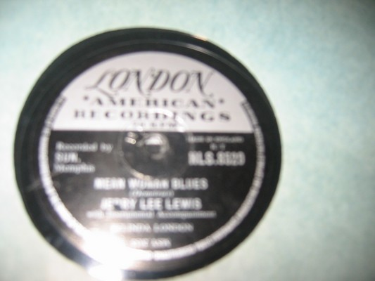 JERRY LEE LEWIS - GREAT BALLS - LONDON - RARE 78 RPM