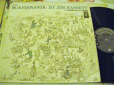 JIM FASSETT - SCANDINAVIA - COLUMBIA 6 EYE