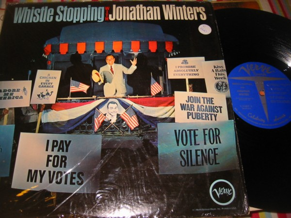 JONATHAN WINTERS - WHISTLE STOPPING - VERVE