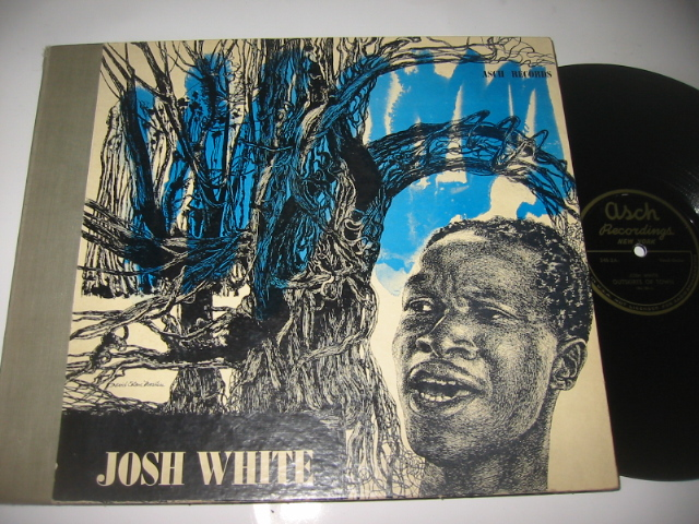 JOSH WHITE - SONGS BY - ASCH SET { 51