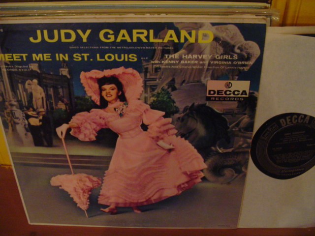 JUDY GARLAND - MEET ME IN St LOUIS - DECCA - 16 - Click Image to Close