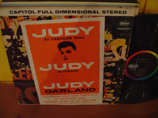 JUDY GARLAND - IN PERSON CARNEGIE - CAPITOL 2 LP - 21