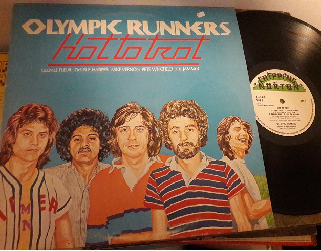 Olympic Runners - Hot to Trot - Chipping Norton NOR.1 UK 1977