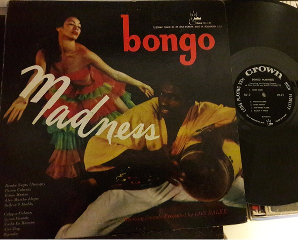 Don Ralke - Bongo Madness - Crown CLP.5019 - USA 1960s
