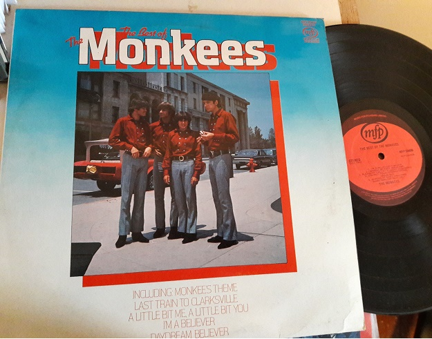 The Monkees - The Best of - MFP 50499 UK 1970s