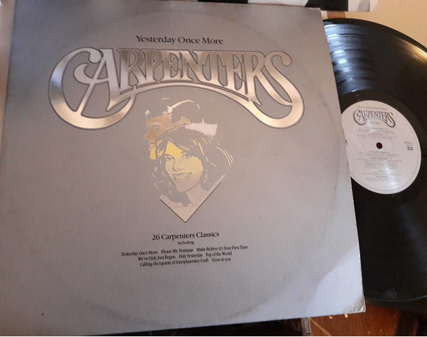 The Carpenters - Yesterday once more - A & M SING.1 UK 2LP