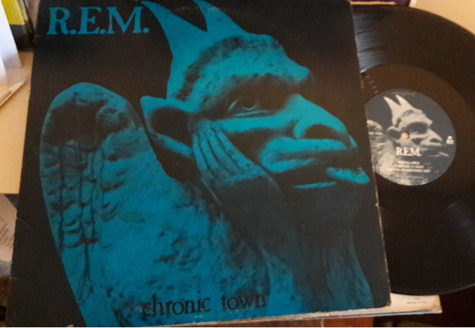 "R.E.M. - Chronic Town - IRS 70502 - 12"" EP USA 1982 Excelle"