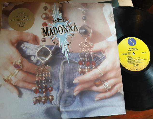 Madonna - Like a Prayer - Sire WX.239 - UK 1989 Excellent