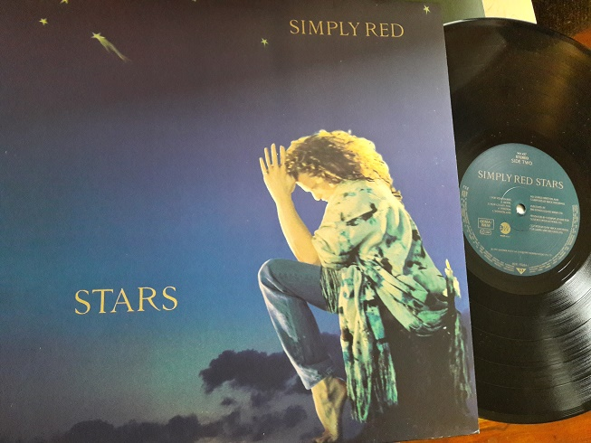 Simply Red - Stars - East West WX.427 UK 1991 Mint Minus