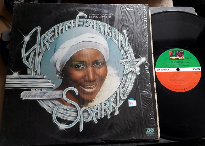 Aretha Franklin - Sparkle - Atlantic SD.18176 USA 1976 VG++
