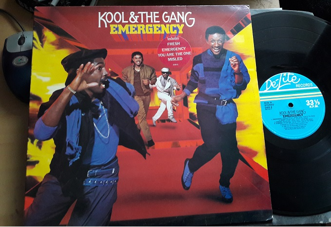 Kool and the Gang - Emergency - De-lite DSR.6 - UK 1984 NM