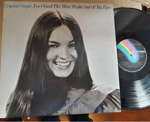 Crystal Gayle - I've cried the blue right out of my eyes - MCA
