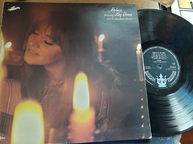 Melanie - Candles in the Rain - Buddah 2318009 UK 1970 VG+