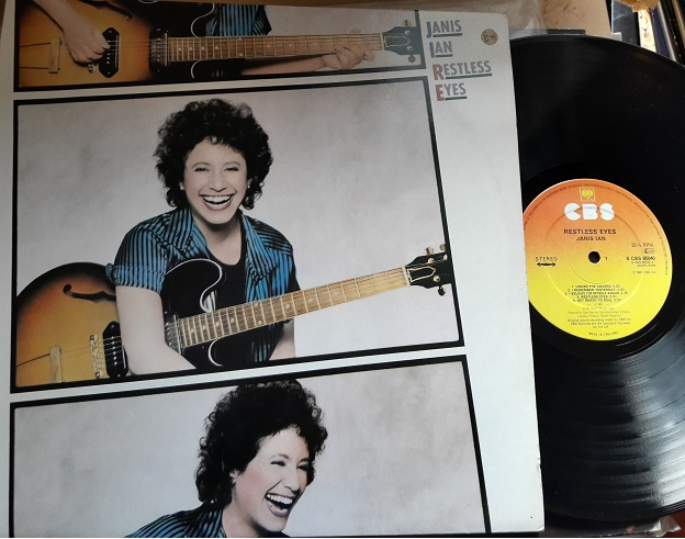 Janis Ian - Restless Eyes - CBS 85040 UK 1981 Excellent