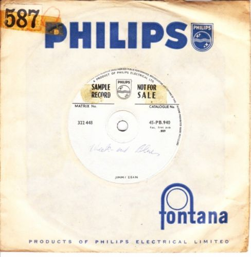 Jimmy Dean - Sing Along - Philips Sample Demo UK 3668