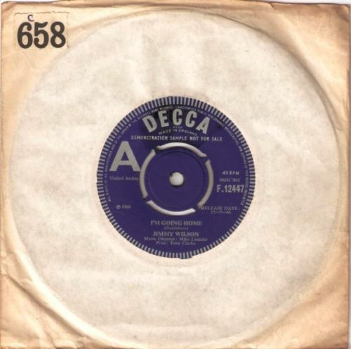 Jimmy Wilson - I'm Going Home - Decca Demo 3241
