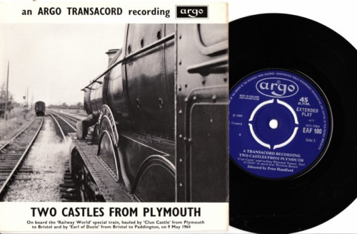 Argo Transcord - Two Castles from Plymouth - British Railways