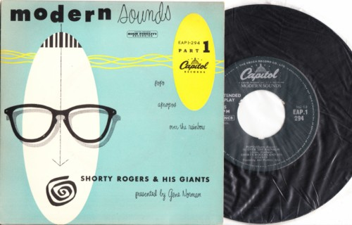 Shorty Rogers - Modern Sounds - Capitol UK