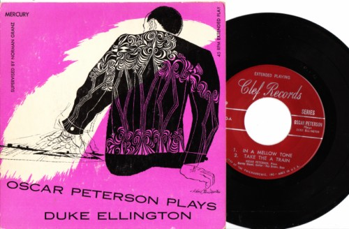 Oscar Peterson - Plays Duke Ellington - Clef USA
