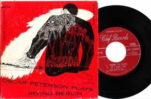 Oscar Peterson - Plays Irving Berlin - Clef USA