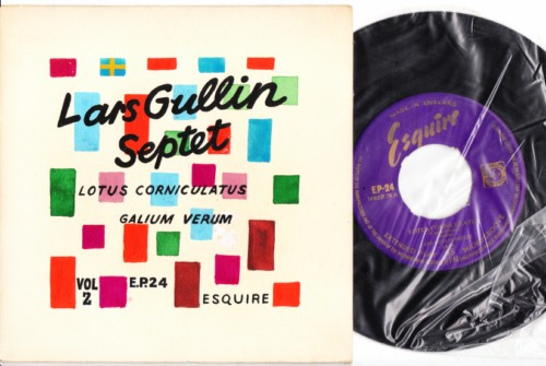 Lars Gullin Septet - Esquire EP - Hand Painted Sleeve