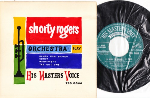 Shorty Rogers - MGM 3044 - Hand Painted Sleeve