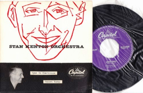 Stan Kenton - Opus Chartreuse - Hand Painted Sleeve - Capitol