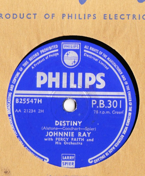 Johnnie Ray - Destiny - Philips UK