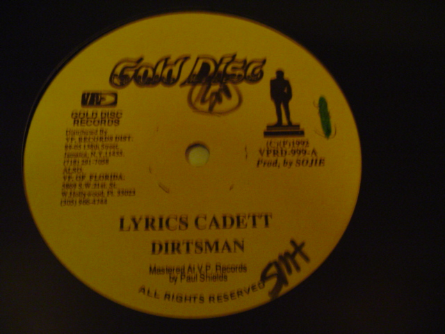 DIRTSMAN & JACK RADICS - GOLD DISC { K 16