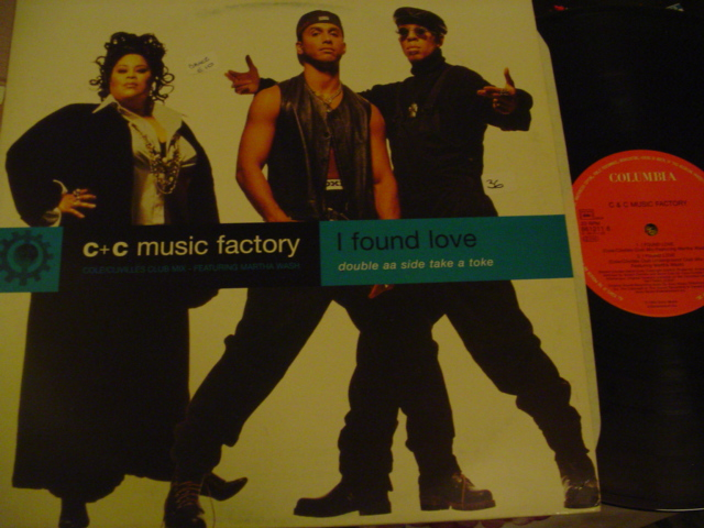 C & C MUSIC FACTORY - I FOUND LOVE { 36