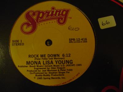MONA LISA YOUNG - ROCK ME DOWN - SPRING { K 66