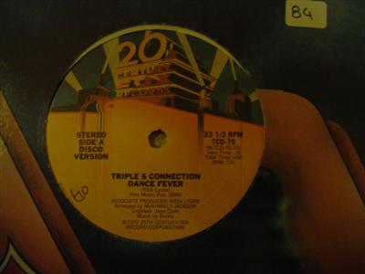 TRIPLE S CONNECTION - DANCE FEVER - 2Oth CENTURY { K 84