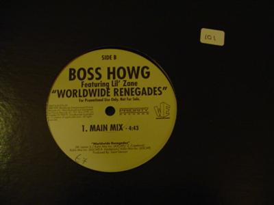 BOSS HOWG - WORLDWIDE RENEGADES - LIL ZANE - { K 101