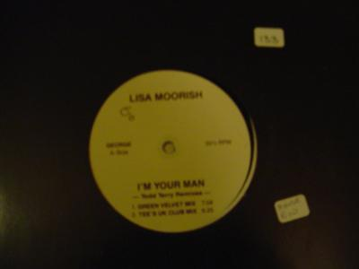 LISA MOORISH - IM YOUR MAN - GEORGE RECORDS { K 133