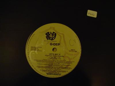G - DEP - LETS GET IT - BAD BOY RECORDS { K 140