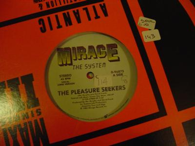 THE SYSTEM - PLEASURE SEEKERS - MIRAGE { K 143