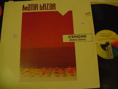 MATIA BAZAR - STRINGIMI - CGD RECORDS { K 145