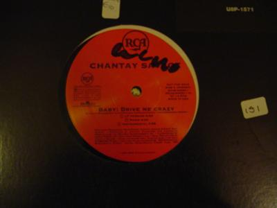 CHANTAY SAVAGE - BABY DRIVE ME CRAZY - RCA { K 151