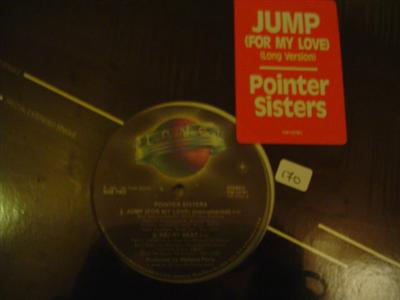 POINTER SISTERS - JUMP - PLANET K 170