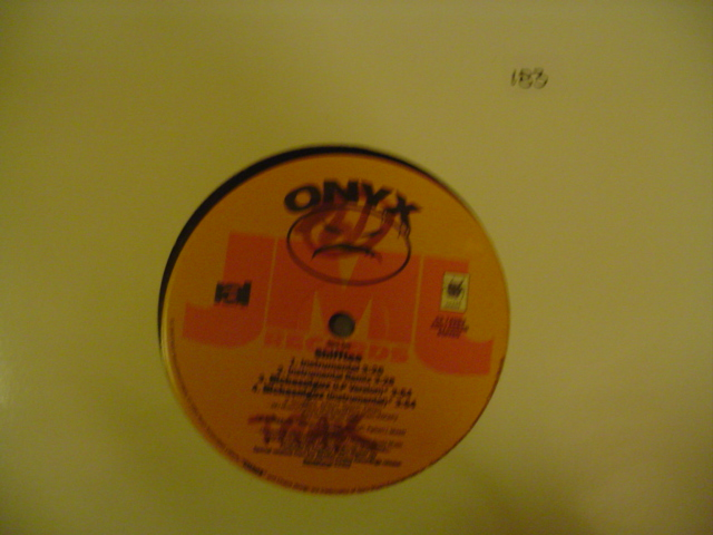 Onyx - Shifftee - JML RECORDS { K 183