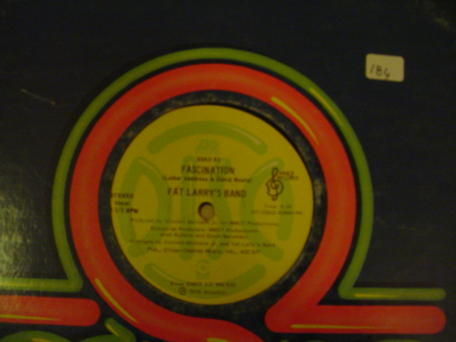 Fat Larry's Band - Fascination / Center City DISC { K 184