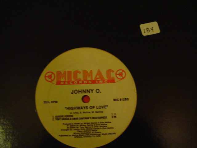 Johnny O.* - Highways Of Love MICMAC RECORDS {K 187