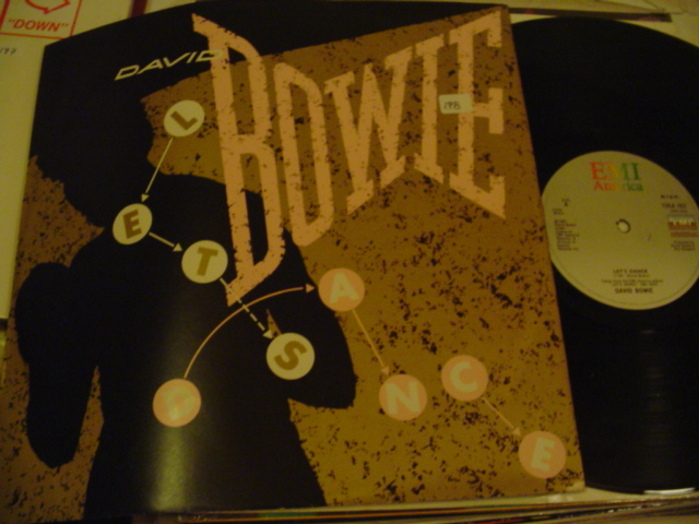 "DAVID BOWIE - LETS DANCE 1983 12"" SINGLE { K 198"