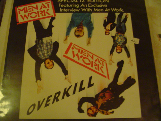 Men At Work - Overkill / Till The Money Runs Out K 201