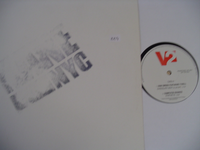 KANE NYC V2 RECORDS 12 INCH PROMO { K 229